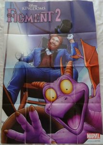 FIGMENTS 2 Promo Poster, 24 x 36, 2015, MARVEL DISNEY, Unused 181