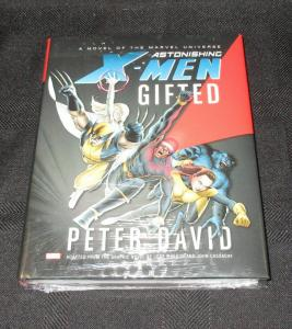 Astonishing X-Men Gifted Hardcover Novel (Marvel) - New/Sealed!