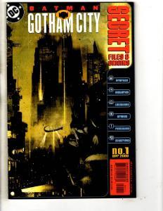 4 DC Comics Batman Gotham City Secret + Gallery + Devils Asylum + Judgement CR12