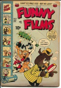 Funny Films #10 1951-ACG-stories made like they were on movie screens-VG