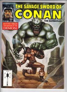 Savage Sword of Conan #185 (May-91) NM- High-Grade Conan