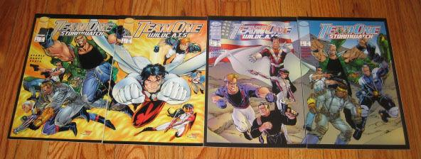 Team One: Stormwatch #1-2 VF/NM complete series + team one: wildcats #1-2 set