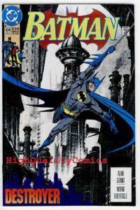 BATMAN #474, NM+, Alan Grant, 1992, Gotham City, Destroyer, more BM in store