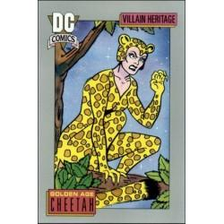 1991 DC Cosmic Cards - GOLDEN AGE CHEETAH #22