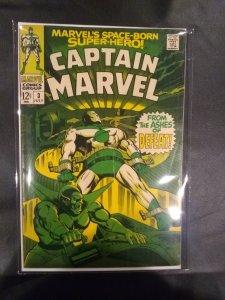Captain Marvel #3 (1968)