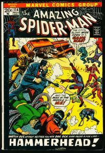 AMAZING SPIDER-MAN #114-MARVEL COMICS-DOCTOR OCTOPUS VG