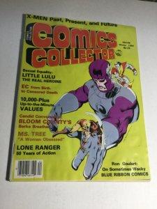 Comic Collector Winter 1984 Vg Very Good 4.0 Magazine