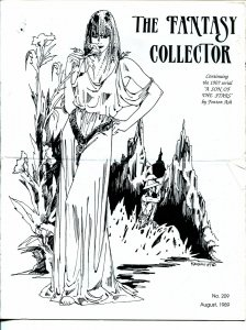 Fantasy Collector #209-1989-Caz Cazedessus-Son Of The Stars-VG