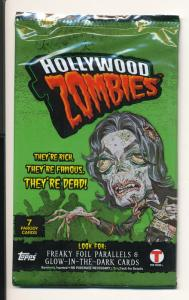 2007 Topps Hollywood Zombies Unopened Pack H8
