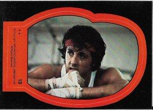 1979 Topps Rocky II Sticker #13 Rocky Balboa > Stallone > Italian Stallion
