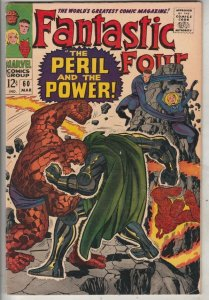 Fantastic Four #60 (Mar-67) FN/VF Mid-High-Grade Fantastic Four, Mr. Fantasti...