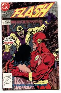 Flash #5-1987-First appearance of SPEED MCGEE  Comic Book