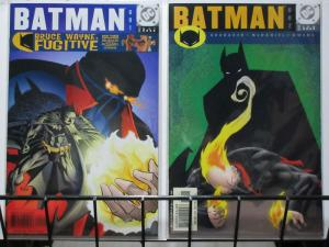 BATMAN 601-602  TURNING THE TOWN RED