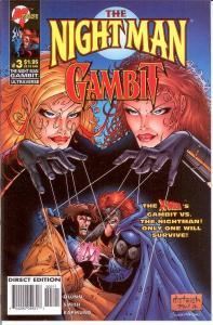 NIGHT MAN GAMBIT (1996 MA/UL) 3 (1.95 CVR) VF-NM
