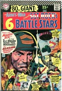 OUR ARMY at War #177, SGT ROCK'S Battle Tales, VG/FN, 1967, Joe Kubert