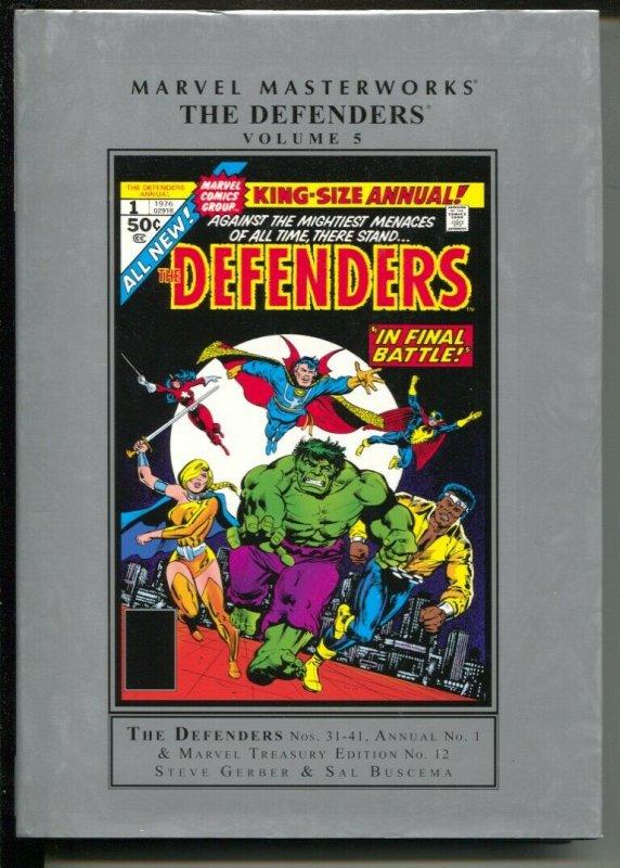 Marvel Masterworks The Defenders-Steve Gerber-Vol 5-2015-HC-VG/FN