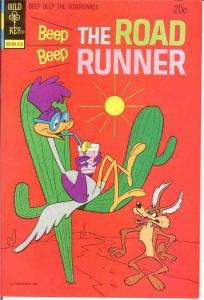 BEEP BEEP THE ROAD RUNNER (GK) 39 VF-NM  October 1973 COMICS BOOK