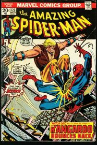 AMAZING SPIDER-MAN #126-MARVEL COMICS-GREAT ISSUE-fine condition FN