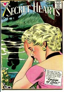 Secret Hearts #48 198-DC-emotional stories-fashions-romance-FR/VG
