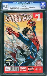 AMAZING SPIDER-MAN v2014 #1 - CGC 9.8