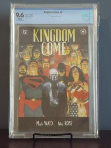 Kingdom Come #2, CBCS 9.6, White Pages, New In Stock!