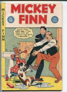 MICKEY FINN #10 1947-LANK LEONARD-BO-FRANK BECK-ORIENTAL-fn minus