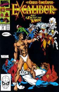 Excalibur (1988 series) #19, NM- (Stock photo)