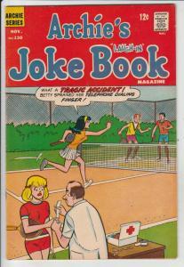 Archie's Joke Book #130 (Nov-68) VF/NM High-Grade Archie, Betty, Veronica, Re...