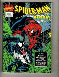 Spider-Man Vs. Venom 1st Print Marvel Comics TPB Graphic Novel 300 298 315 SM8
