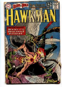 Brave And The Bold #42 1962-DC Silver Age  Hawkman issue Kubert G
