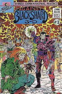 Against Blackshard: 3-D—The Saga of Sketch, the Royal Artist #1 VF/NM; Sirius |