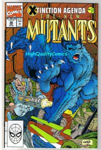 NEW MUTANTS #96, NM, Cable, X-Tinction Agenda,Beast,1983, United we Stand
