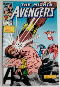 AVENGERS #252 Marvel Comics ID#MBX2