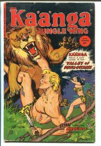 Kaanga #16 1953-Fiction House-jungle fights-Sheena story-VG