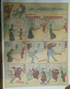 Granny Goodthing Sunday Page by Follett  from 5/15/1910 Full Page Size!