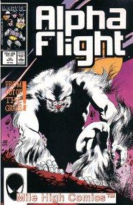 ALPHA FLIGHT (1983 Series)  #45 Very Fine Comics Book