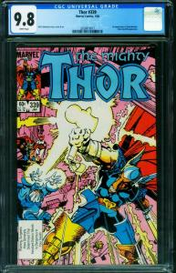 THOR #339-CGC 9.8 BETA RAY BILL-1st Stormbreaker 2020819017