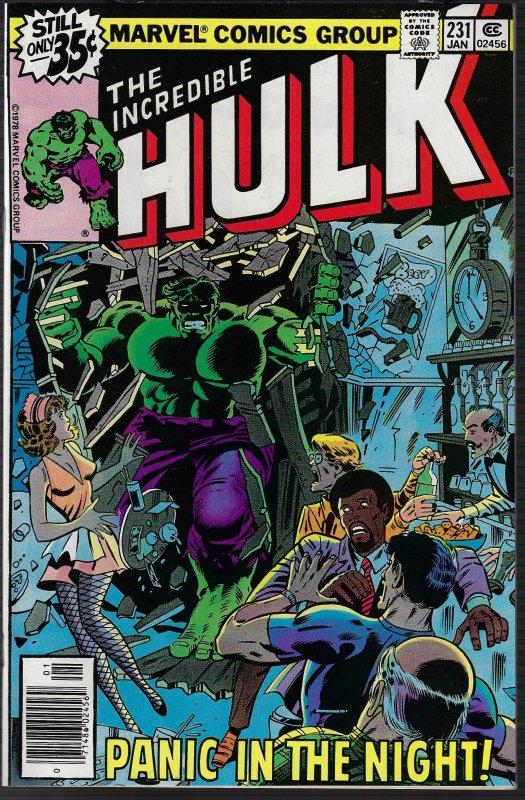 Incredible Hulk #231 (Marvel, 1979) NM