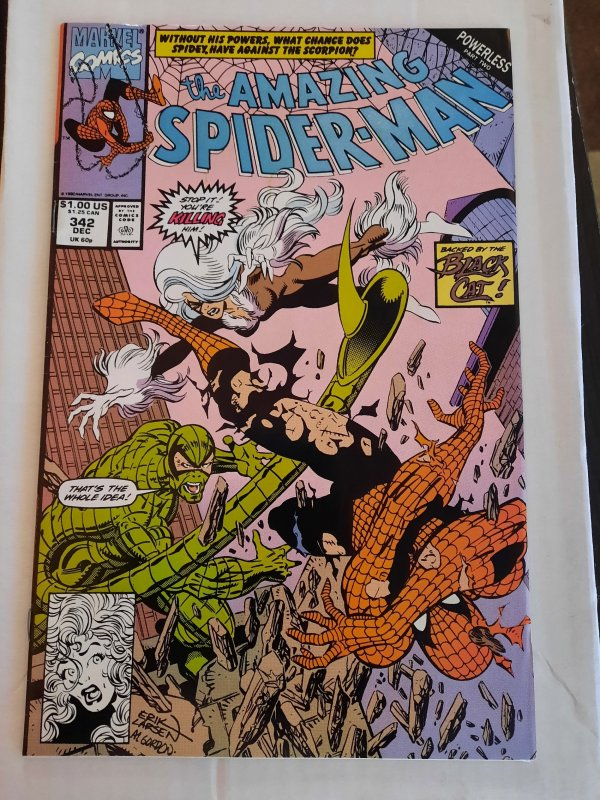 AMAZING SPIDER-MAN 342 VF-