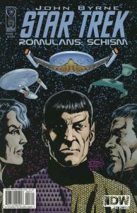 Star Trek: Romulans Schism #3 VF; IDW   save on shipping - details inside