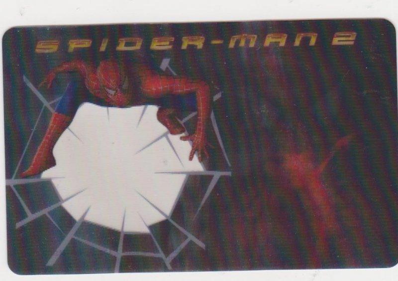 2004 Spider-Man 2 Spider Sense Decoder Card #4