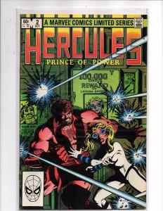 Marvel Comics Hercules, Prince of Power #2 Bob Layton Story & Art New Costume