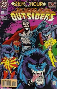 DC OUTSIDERS (1993 Series) #11 VF