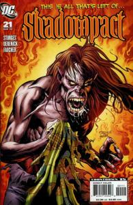 Shadowpact #21 VF; DC   save on shipping - details inside