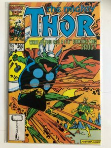 THE MIGHTY THOR #366 1985  MARVEL / VF+/NM-  CNDITION