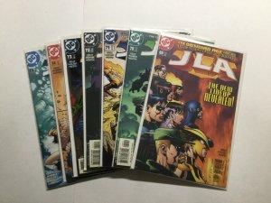 JLA Obsidian Age 1-7 Plus Conclusion 69-75 Near Mint Nm Dc Comics