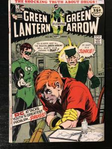 Green Lantern #85 (1971, DC) **Key Speedy Drug Issue** Denny O'Neil/Neil Adams