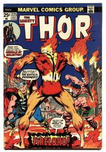 Thor #225 1974- comic book First appearance of FIRELORD