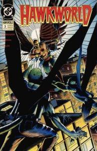Hawkworld (1990 series) #3, VF (Stock photo)