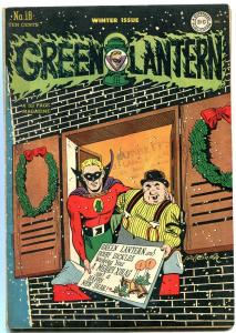 GREEN LANTERN COMICS #18 1945-CHRISTMAS COVER-M NODELL FN